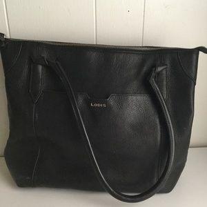 LODIS TOTE BLACK SHOULDER BAG